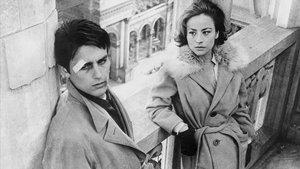 Alain Delon y Annie Girardot en 'Rocco y sus hermanos'.