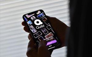 La aplicación Quibi, en el móvil de un usuario.