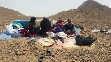 Atrapats al desert del Sàhara