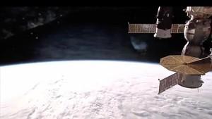 La ISS, la Estación Espacial Internacional.