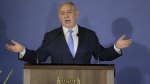 zentauroepp42247059 israeli prime minister benjamin netanyahu gestures as he spe180223192713