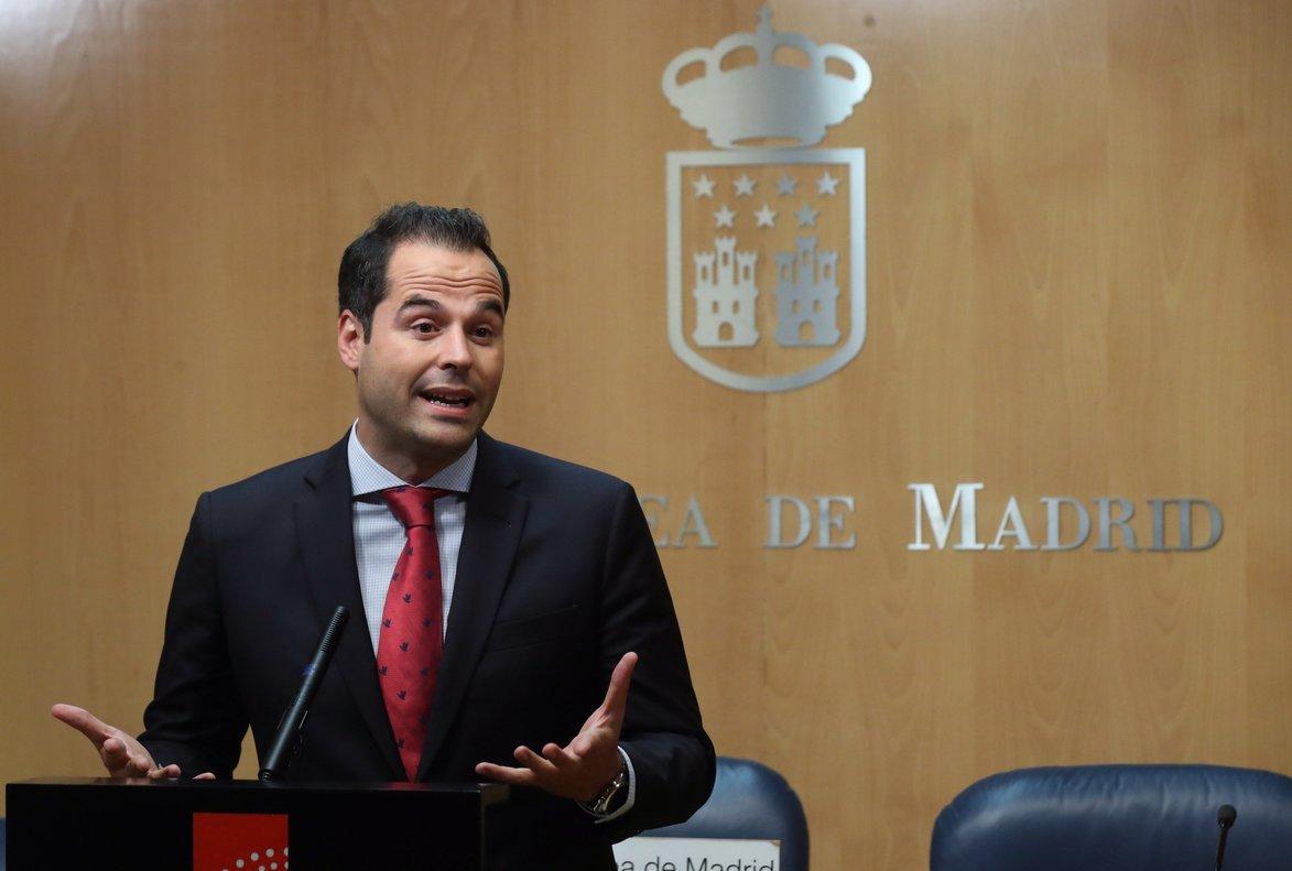 El vicepresidente y portavoz de la Comunidad de Madrid, Ignacio Aguado.
