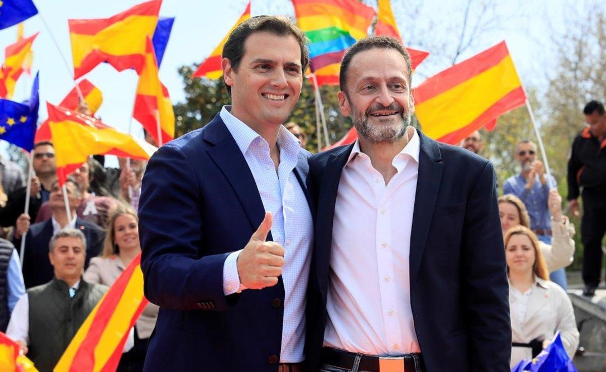 Albert Rivera y Edmundo Bal.