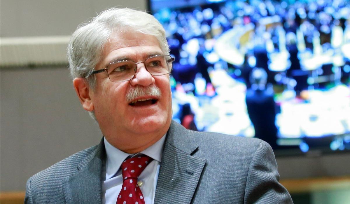 Alfonso Dastis, ministro de Asuntos Exteriores.