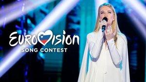 Ana Soklič, ganadora del 'EMA' y representante de Eslovenia en Eurovisión 2020.