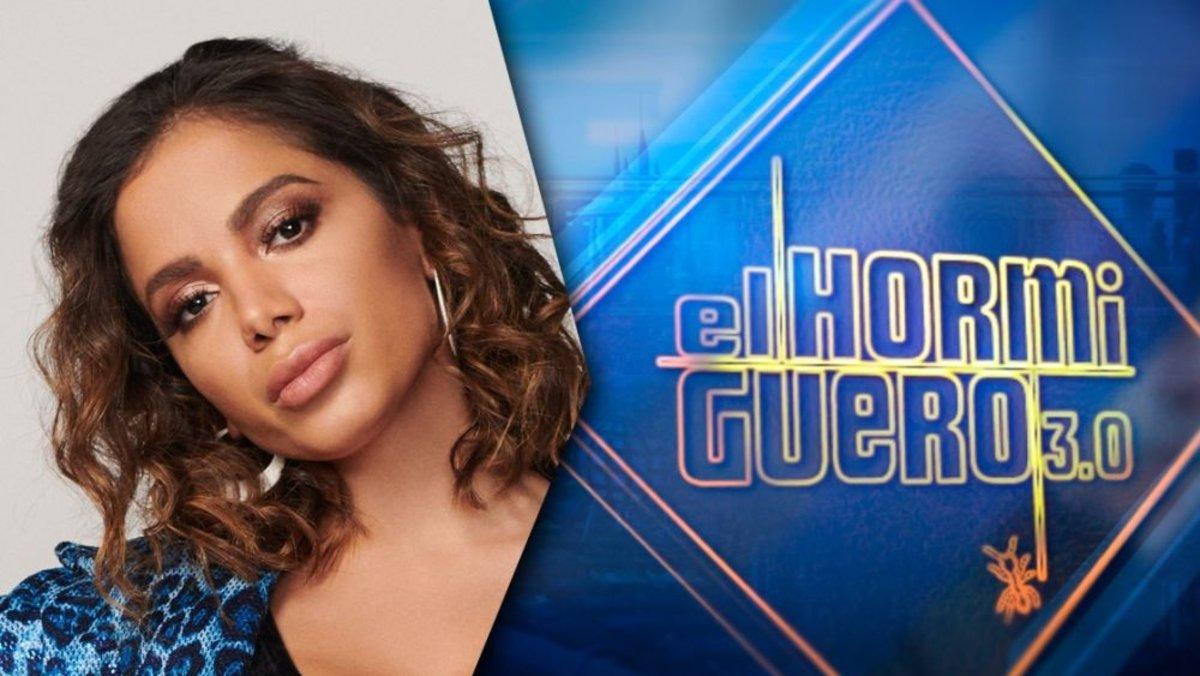 Anitta, nueva invitada en 'El hormiguero'.