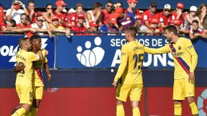 Ansu Fati ha marcado un gol de cabeza histórico en El Sadar.