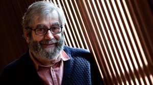 Antonio Muñoz Molina, en un hotel de Barcelona, este viernes.