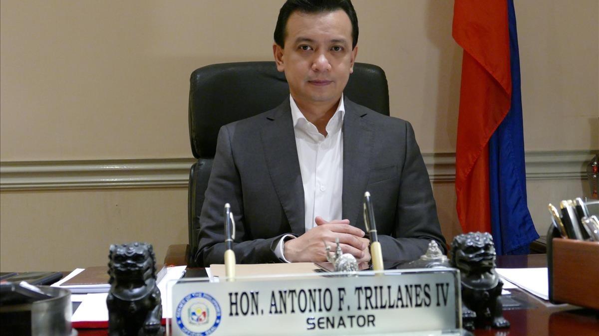 Antonio Trillanes.