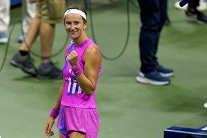 Azarenka jugará por su tercera final del Abierto después de haber disputado las del 2012 y 2013.