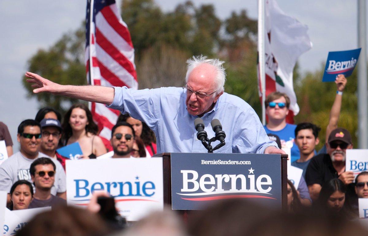Sanders es uno de los favoritos para hacerse con la candidatura demócrata de cara a las elecciones presidenciales de 2020.