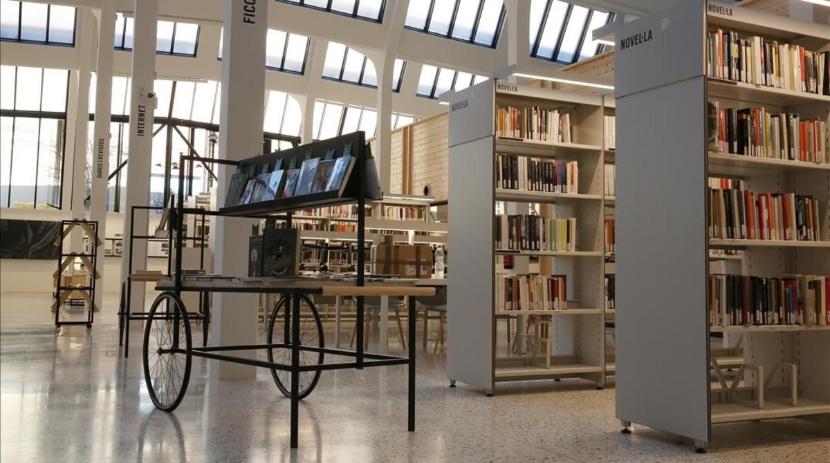 Biblioteca municipal de Les Corts, en Barcelona.