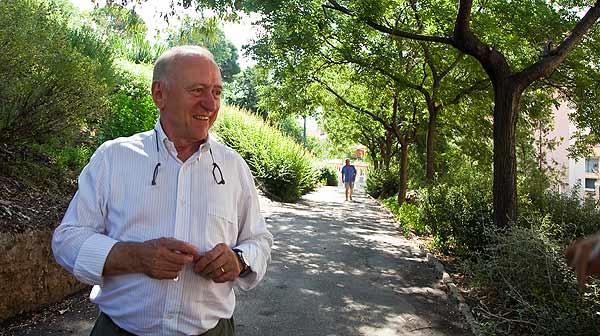 Carles Gaig pasea por Horta