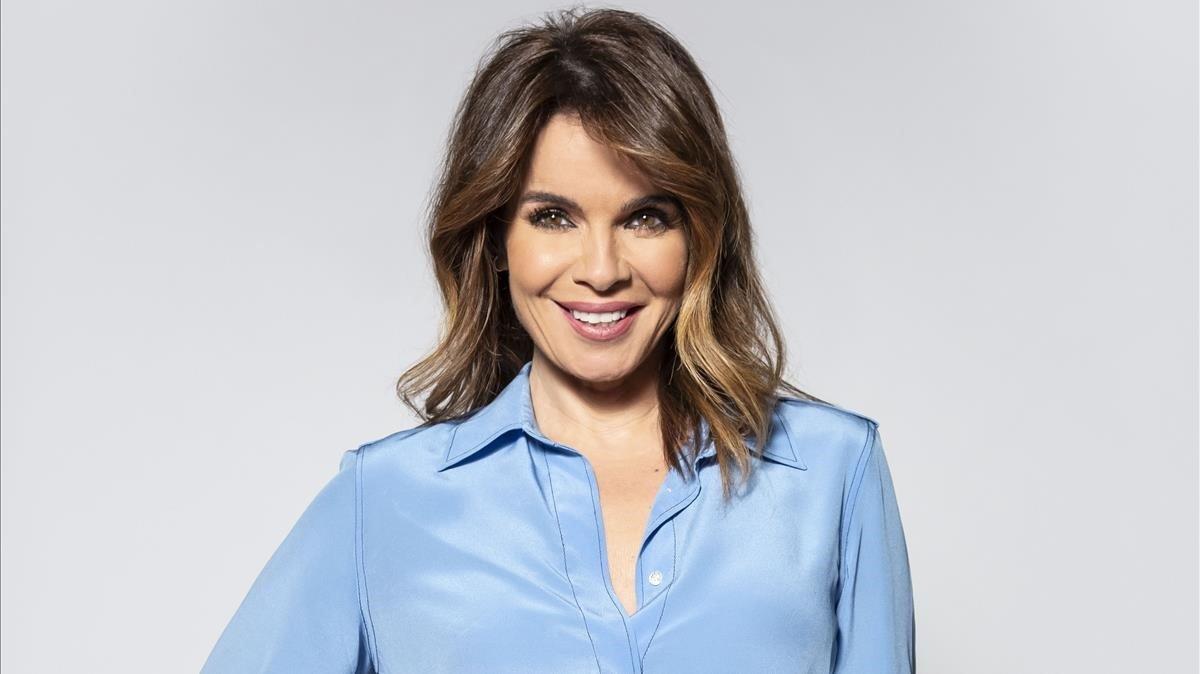 Carme Chaparro, presentadora de Cuatro al día.