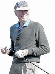 Clint Eastwood, en un torneo de golf para famosos, el día 11 en Pebble Beach, California.
