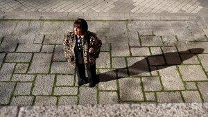 Concepción Curull, de 77 años, habla sobre la soledad y las personas mayores.
