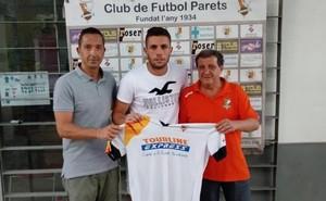 David Sánchez, nuevo fichaje de CF Parets.