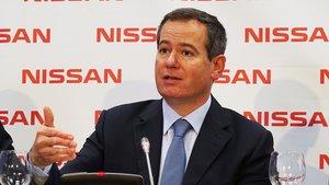 Gianluca De Ficchy, presidente de Nissan en Europa.