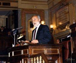 Eduardo Martín Toval, en el Congreso de los Diputados, en una imagen de archivo.