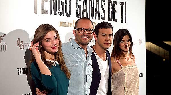 Fernando González Molina, director de Tengo ganas de ti, i Mario Casas, el protagonista, parlen de la pel·lícula.