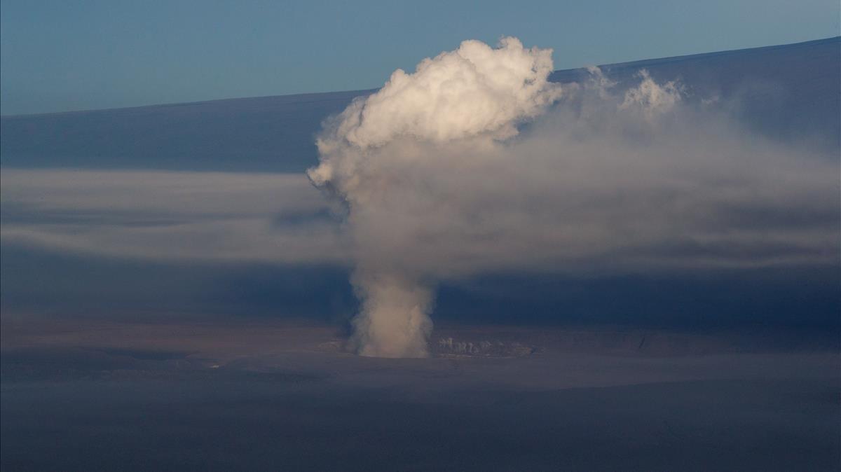 El volcán Kilaue de Hawai