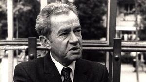 El escritor mexicano Juan Rulfo.