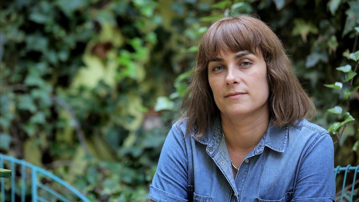 La escritora Sara Mesa, en Sevilla.