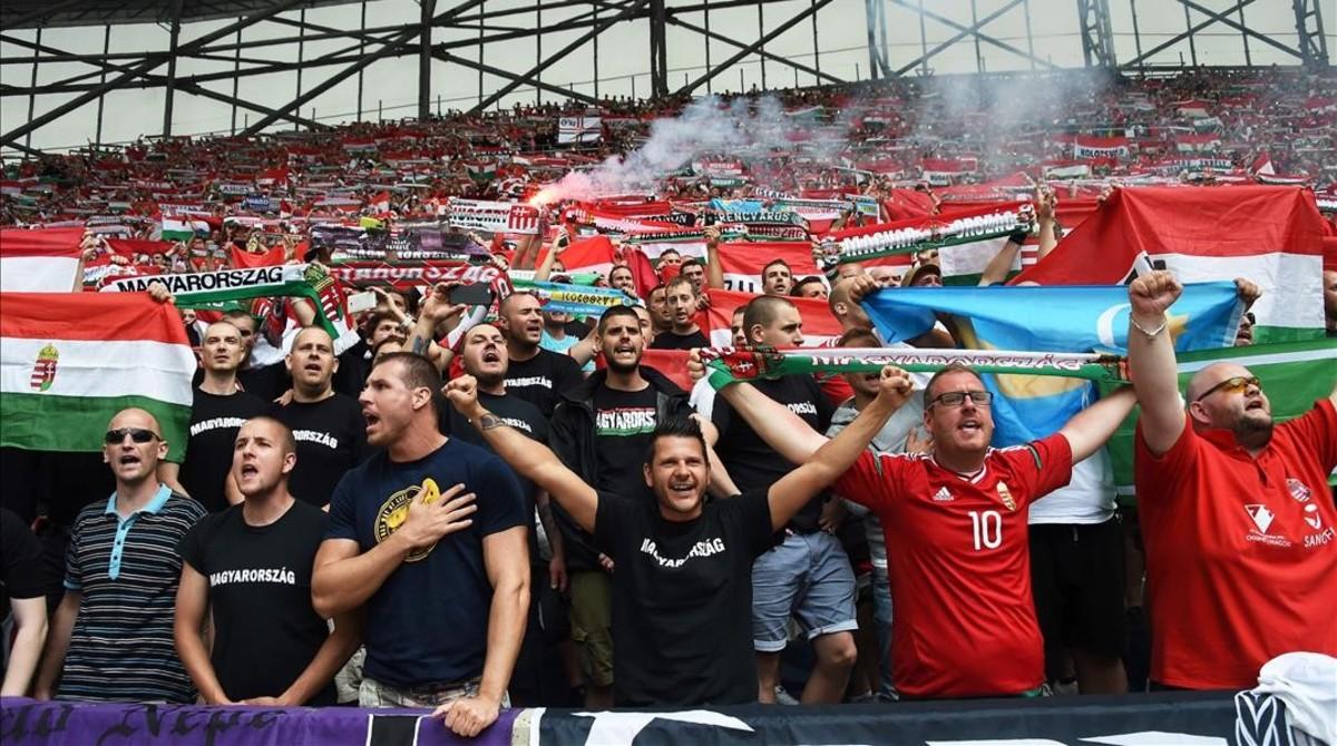 Fans húngaros