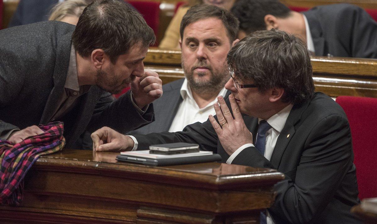 JxCat, ERC, comuns i la CUP demanen a Tajani que vetlli perquè Puigdemont, Comín i Junqueras siguin eurodiputats