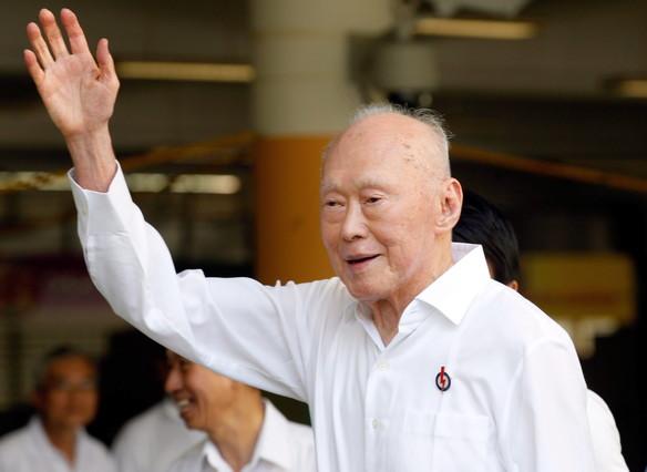 El fundador de Singapur, Lee Kuan Yew, en una imagen de abril del 2011.