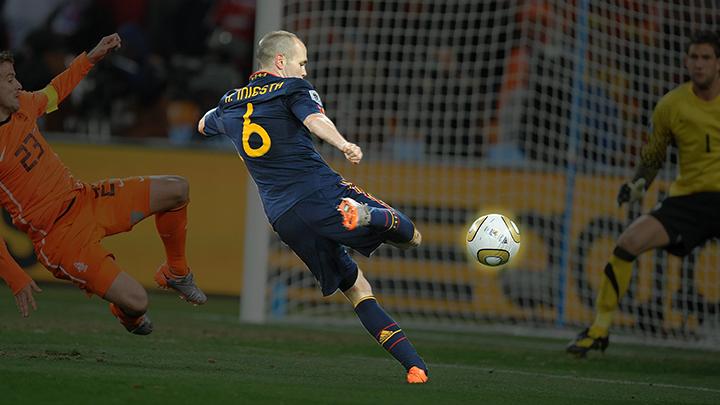 El gol que nos dio el mundial, narrado por Iniesta.