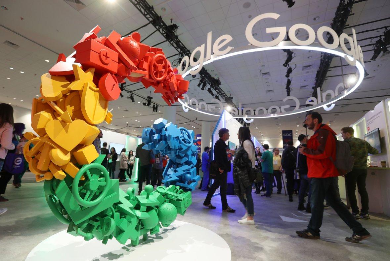 Imagen de un acto de Google