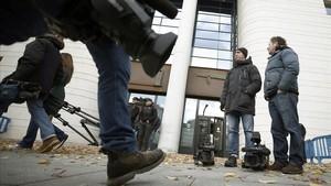 Medios de comunicacion, ante el Tribunal Superior de Justicia de Navarra.