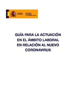 Guía para la empresa ante el brote de coronavirus.