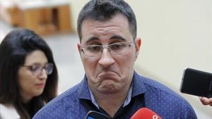 El hasta ahora secretario de organización de Podemos en Galicia y diputado autonómico Juan Merlo.