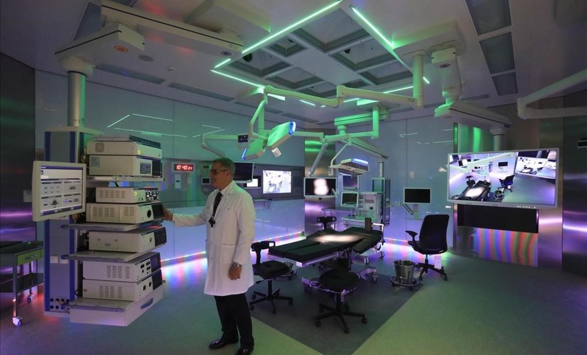Nuevo quirófanode obstetrícia en el Hospital del Mar.