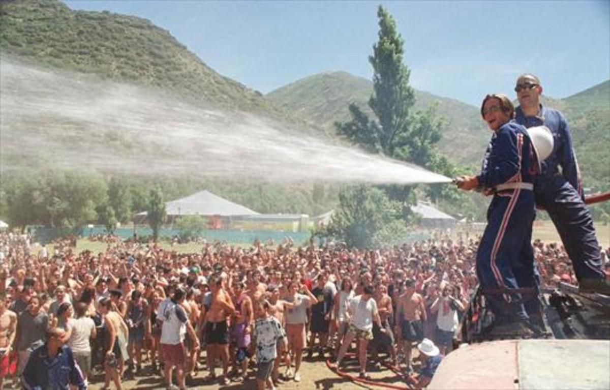 Imagen de la tercera edición del Doctor Music Festival de Escalarre, en julio de 1998.