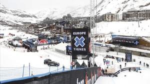 Estación de esquí de Tignes, en los Alpes franceses.