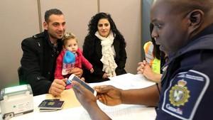 Refugiats sirians a la carta