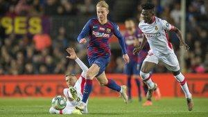 De Jong: «Guanyar la Champions en quatre partits és una oportunitat»