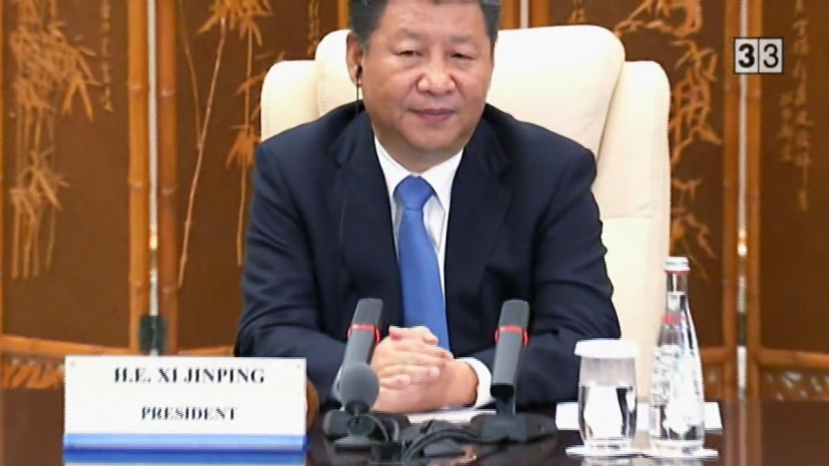 Xi Jinping presidente de China ('60 minuts').