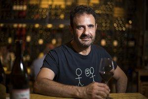 El distribuidor de vinos Joan Valencia.