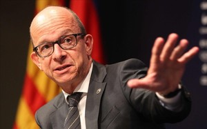Jordi Cardoner, en rueda de prensa