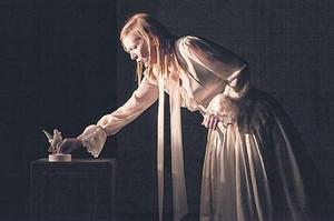 Katelijne Damen, en una escena de 'Orlando', que se verá hoy en Salt.