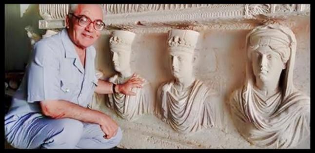 Larqueòleg Khaled al-Assad, a Palmira.