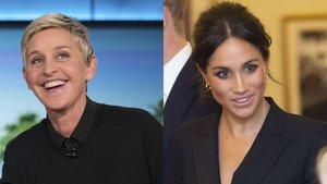 Ellen DeGeneres entrevistará por primera vez a Meghan Markle tras su renuncia a la Casa Real británica