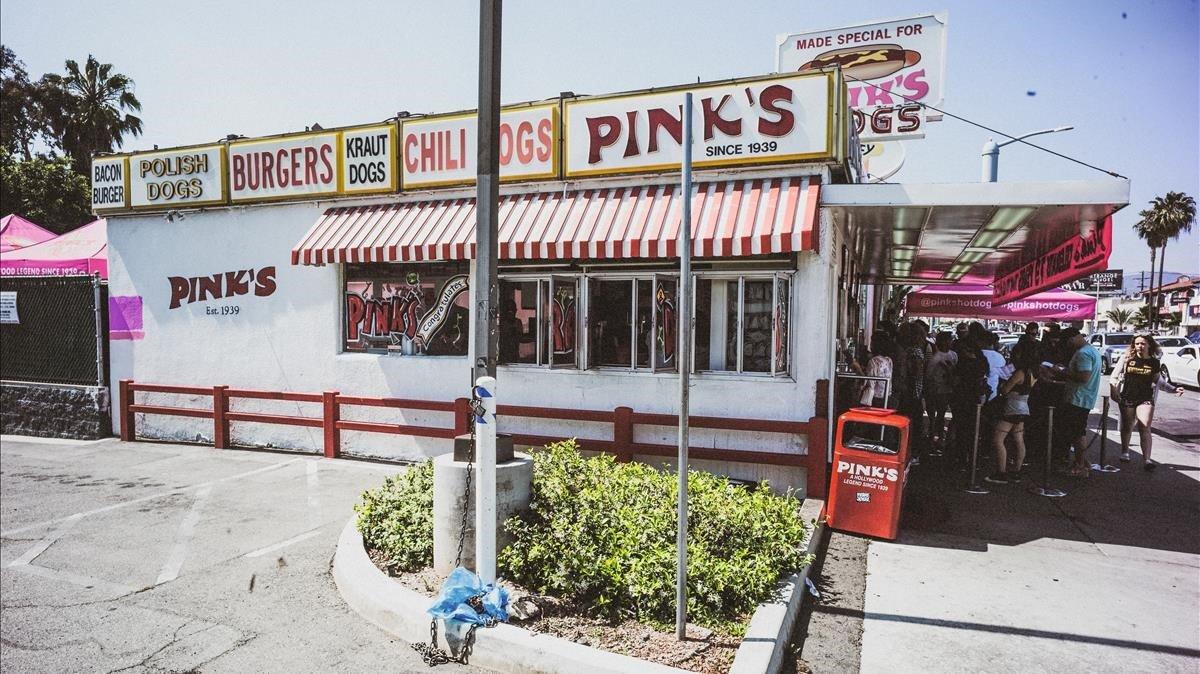 Una imagen de Los Ángeles de Brooklyn Beckham.