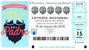 Loteria Nacional: Sorteig del Dia del Pare 2018