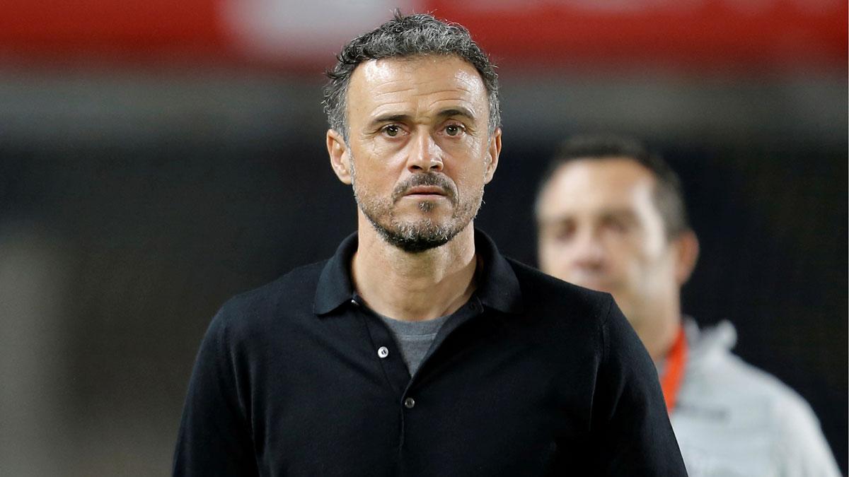 Luis Enrique vuelve a la selección, como ha explicado Luis Rubiales, presidente de la Federación Española, en conferencia de prensa.