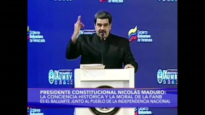 Maduro declara la alerta naranja en la frontera con Colombia por el aumento de la tensión.